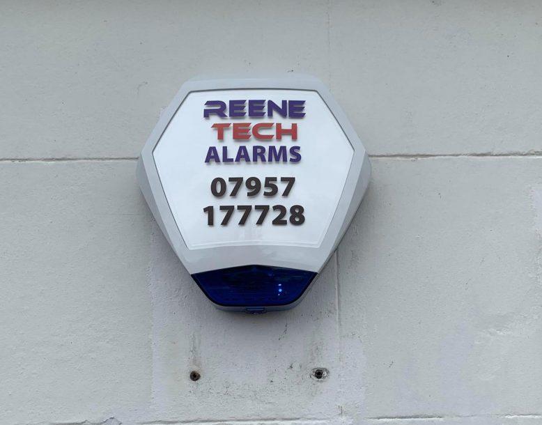 Reene tech security alarm bell box